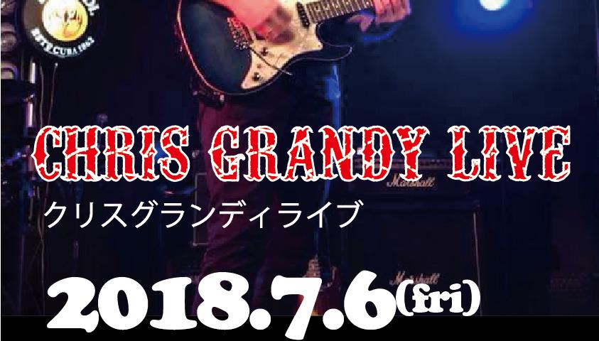写真:CHRIS GRUNDY LIVE