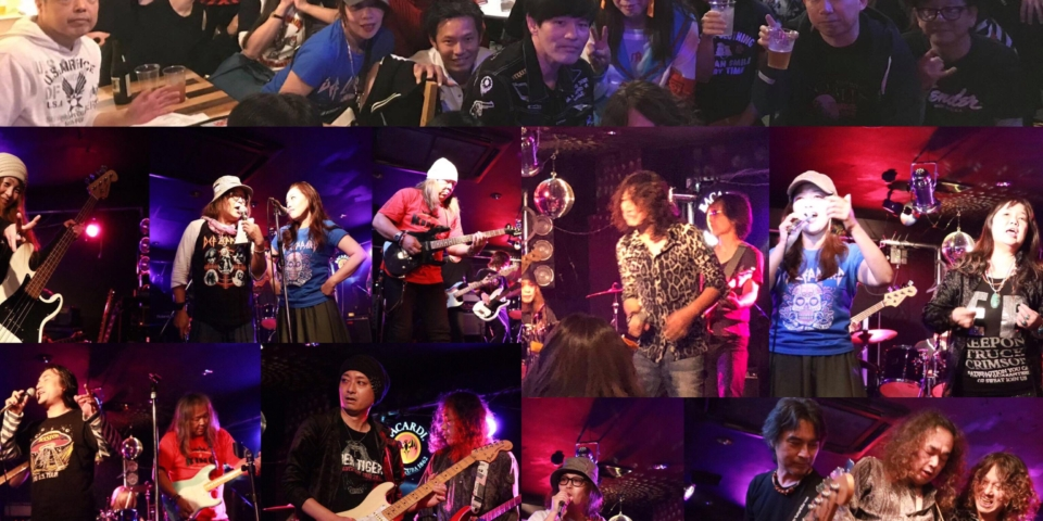 写真:Mariana CAFE Rock Sessinon #4