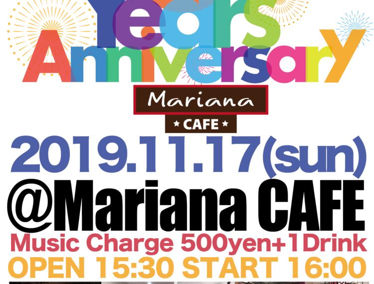 写真:Mariana CAFE 3rd Anniversary Live Party