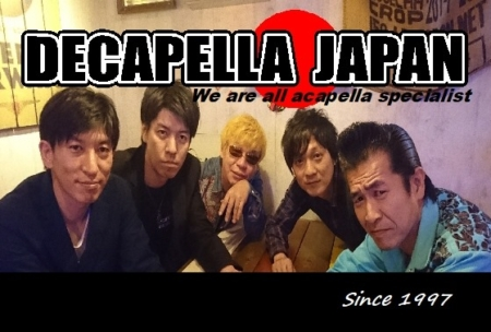 写真:DECAPELLA JAPAN LIVE