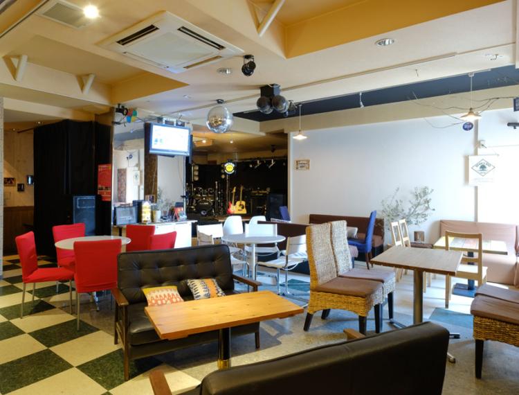 "CAFE, DINING & LIVE ""Mariana CAFE"" !!!"