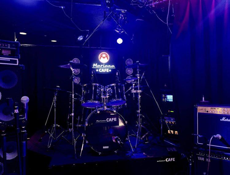 写真:Mariana CAFE Rock Sessions #13 supported by 北摂鋼鉄会