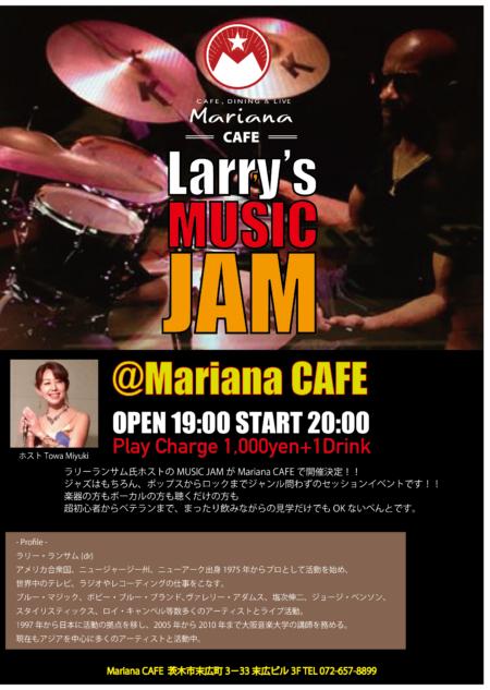 写真:Larry's MUSIC JAM