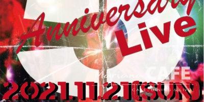 写真:Mariana CAFE 5th Anniversary Live